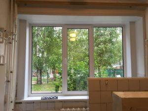 отремонтировать окно